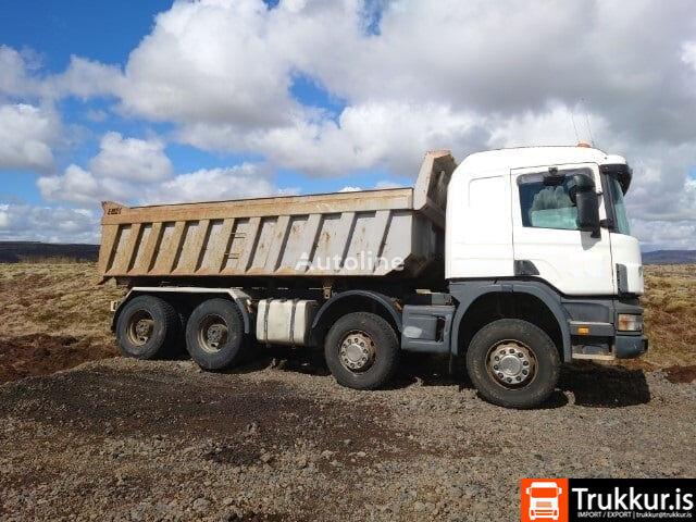 SCANIA R124 dump truck